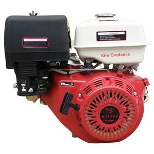SJ177F-L 9hp Gasoline engine of reduction by gear