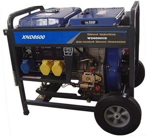 SJ8600 8KW Diesel generator with recoil starter