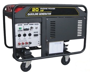 WTQF8.5SD 8.5KW Gasoline generator whith electric start and single phase Powered by 2V78 engines