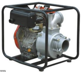 SJ100WP-186F 4 inch DIESEL WATER PUMPS
