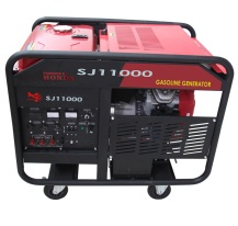 SJ10000E 10KW Gasoline generator whith electric start and single phase Powered by GX690 engines