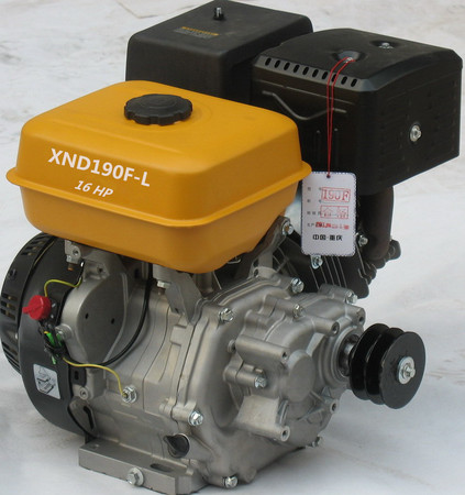 SJ190F-L 16hp Gasoline engine of reduction by gear
