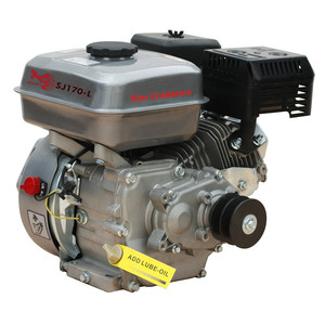 SJ170F-L 7hp Gasoline engine of reduction by gear